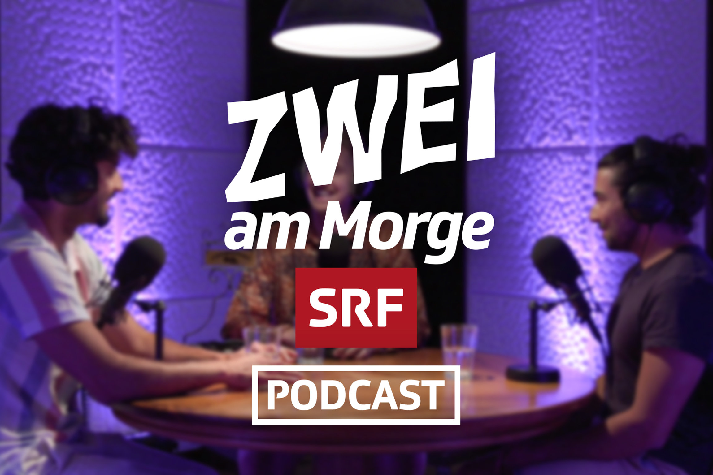 Zwei am Morge Podcast Keyvisual