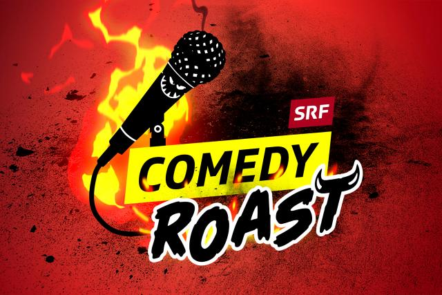 SRF Comedy Roast Keyvisual 2020