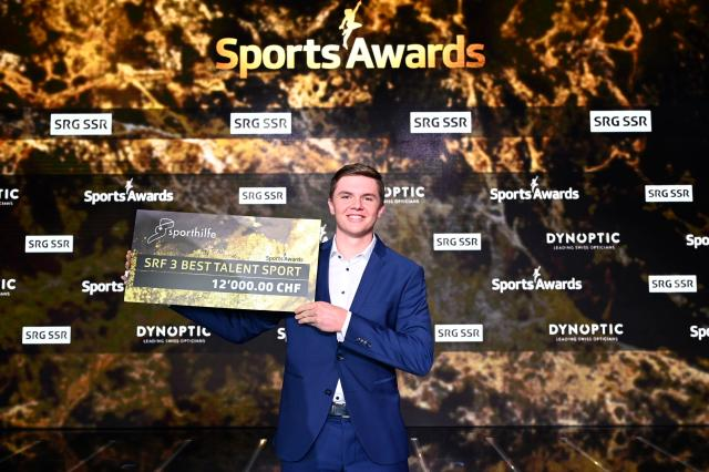 Sports Awards – Die Besten aus 70 JahrenSRF 3 Best Talent Sport: Dominic StrickerCopyright: SRF/Valeriano Di Domenico