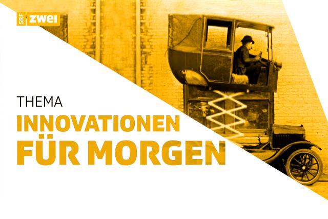 Innovationen für morgen SRF zwei Keyvisual