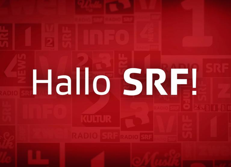 Hallo SRF! Keyvisual 2015