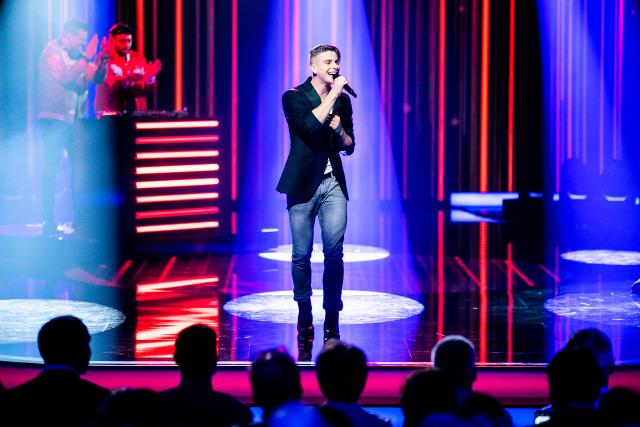 Hello Again! Die Pop-Schlager-ShowVincent Gross 2019Copyright: SRF/Mirco Rederlechner