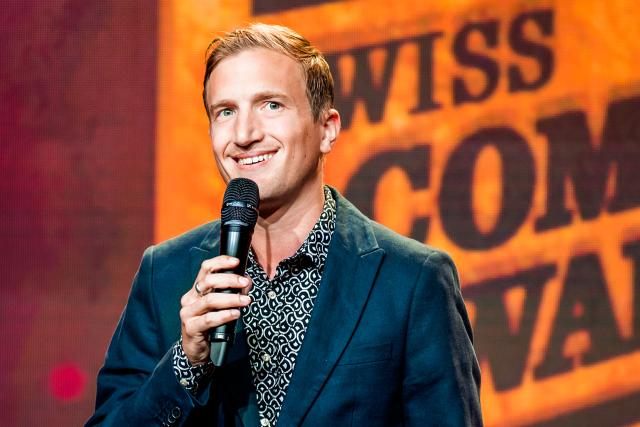 Swiss Comedy Awards! 2019 Moderator Stefan Büsser