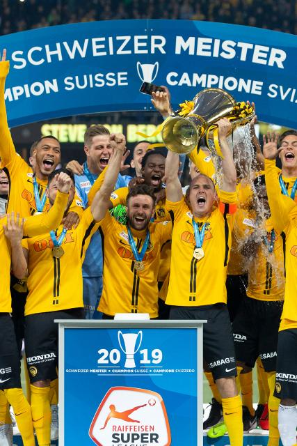 Sports Awards 2019 BSC Young Boys, Fussball Nominiert in der Kategorie Team des Jahres