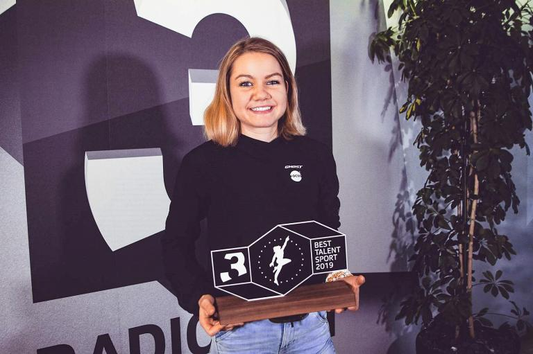 Sports Awards 2019 Sina Frei, Mountainbikerin Sina Frei ist das «SRF 3 Best Talent Sport»